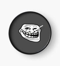 Troll  Face Clock