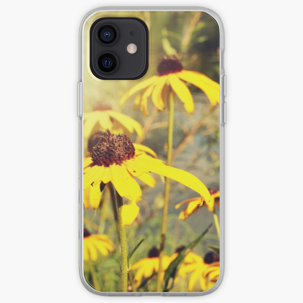 Sun-Drenched Flowers In Central Park  iPhone Case & Cover