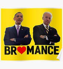 Obama -& Biden - Bromance Poster