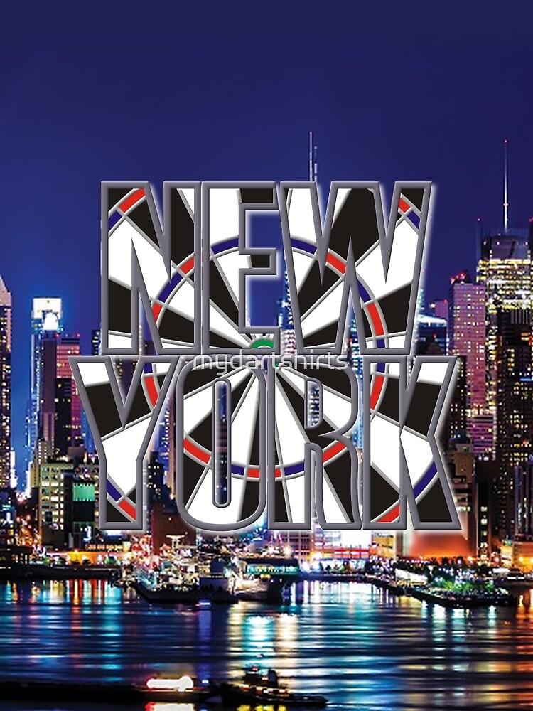 Darts New York by mydartshirts