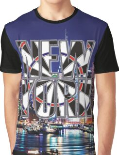 Darts New York Graphic T-Shirt