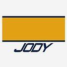 Jody Scheckter Helmet by EdwardDunning