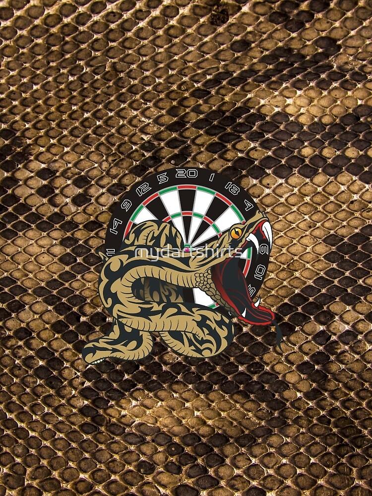 Intimidarters Snakeskin Darts Shirt by mydartshirts