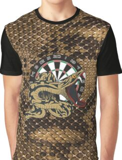 Intimidarters Snakeskin Darts Shirt Graphic T-Shirt