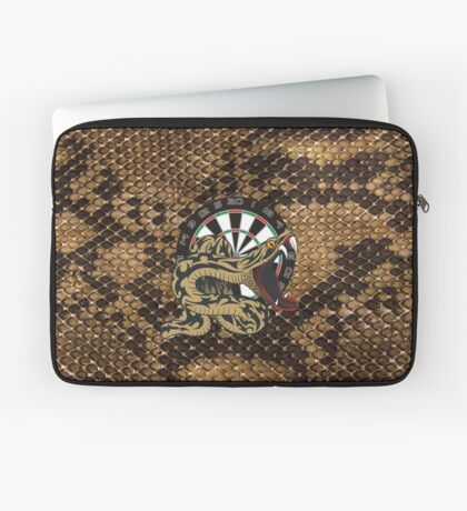 Intimidarters Snakeskin Darts Shirt Laptop Sleeve