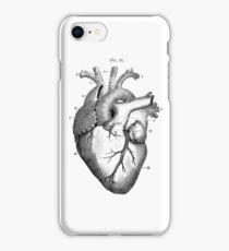 Vintage Heart Graphic iPhone Case/Skin