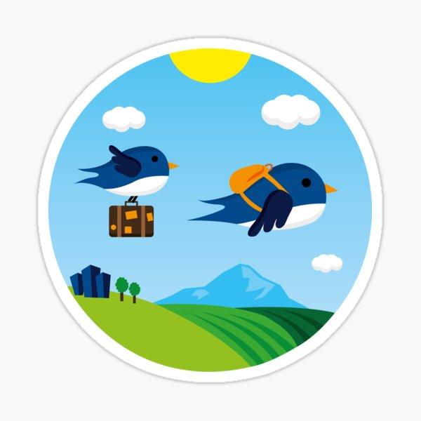 Swallows go to Africa Sticker