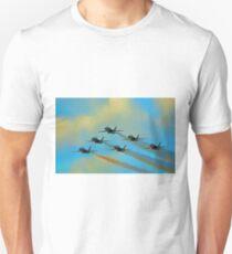 Beautiful Blue Angels Art Unisex T-Shirt