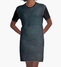 Cognitive Dissonance | Fractal Art Graphic T-Shirt Dress