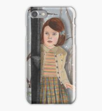 Lucy and the Lantern (Narnia) iPhone Case/Skin