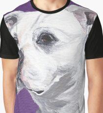 Pit bull Art by Lee H Keller Graphic T-Shirt