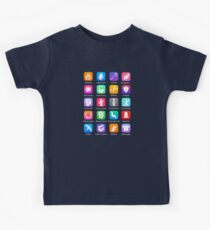 Potter Spell Icons Kids Tee