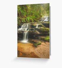 Leura Cascades Greeting Card