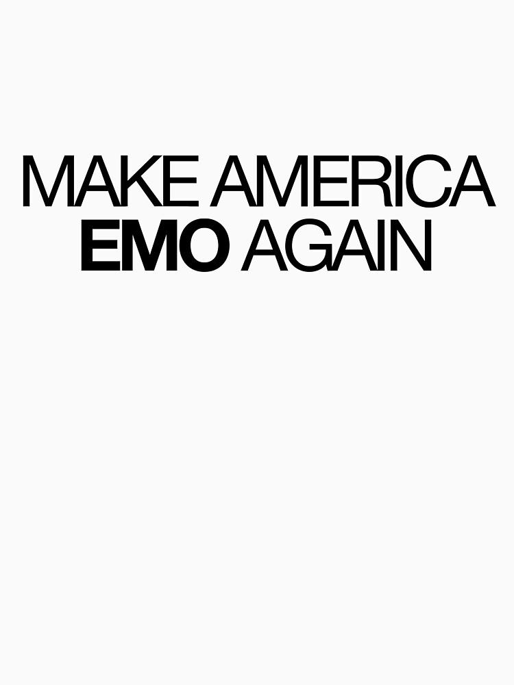 make america emo again by lunalovebad