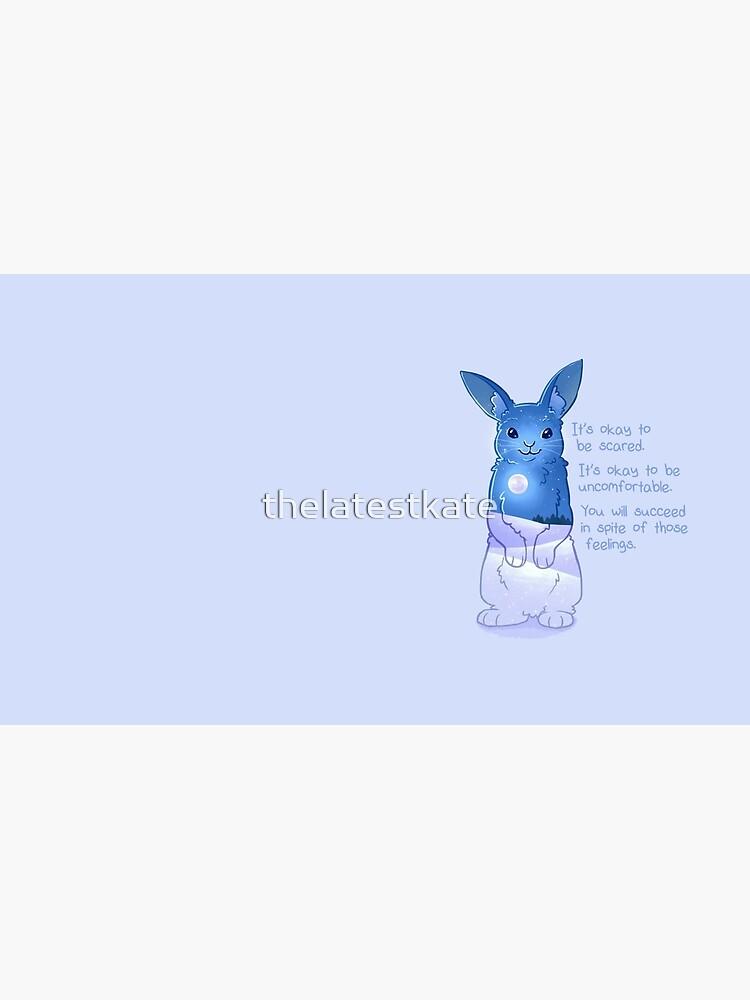 """""""Es ist okay, Angst zu haben"""" Night Snow Rabbit von thelatestkate"""