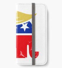 Vinilo o funda para iPhone Elefante republicano Donald Trump