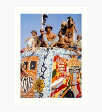 Woodstock Van Art Print