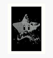 Super Death Star Art Print