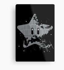 Super Death Star Metal Print