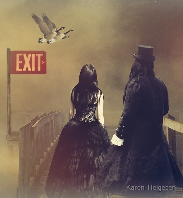 Exits... by Karen  Helgesen
