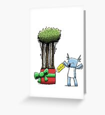 Tree Gift for Koala Greeting Card