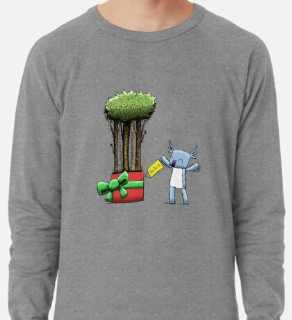 Tree Gift for Koala Lightweight Sweatshirt
