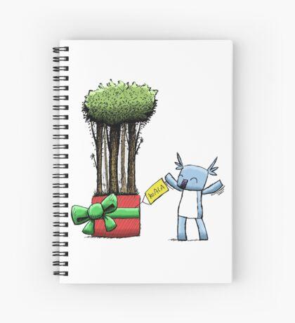 Tree Gift for Koala Spiral Notebook