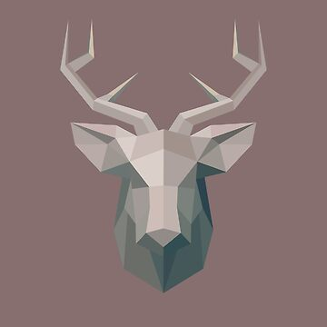 Low Poly Stag by McBethAllen