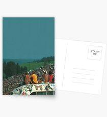 woodstock crowd Postcards