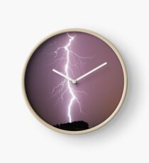 Lightning Bolt Clock
