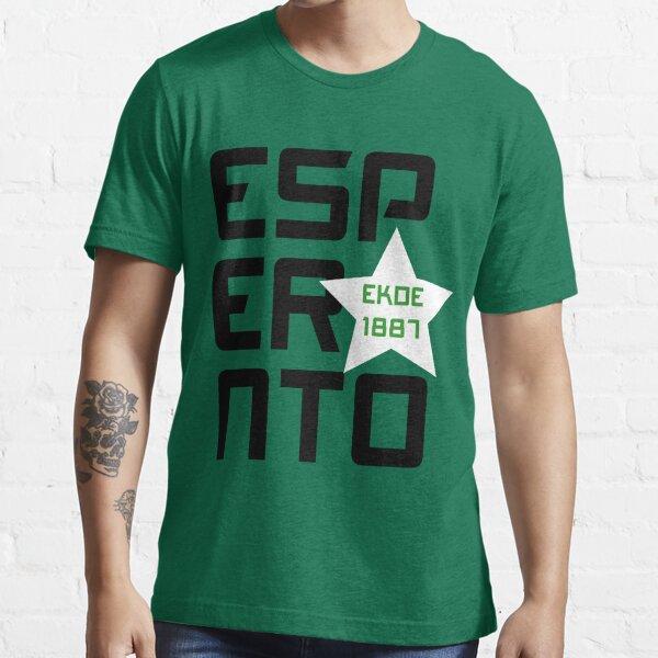 Esperanto: Ekde 1887 Essential T-Shirt