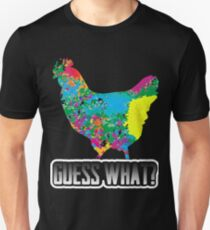 Guess What? Chicken Butt Funny Humorous Graphic T-Shirt T-Shirt