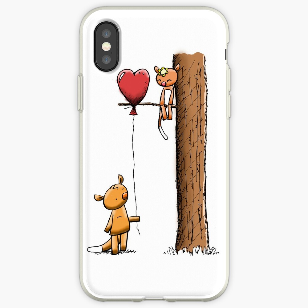 Valentine Possums iPhone Case & Cover