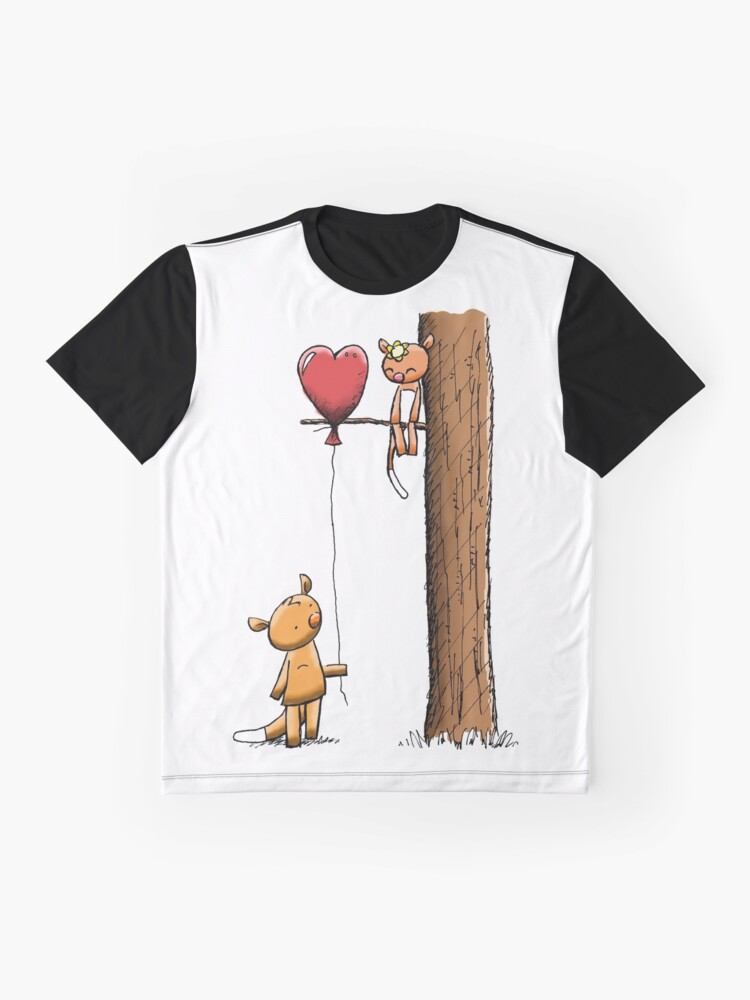 Alternate view of Valentine Possums Graphic T-Shirt
