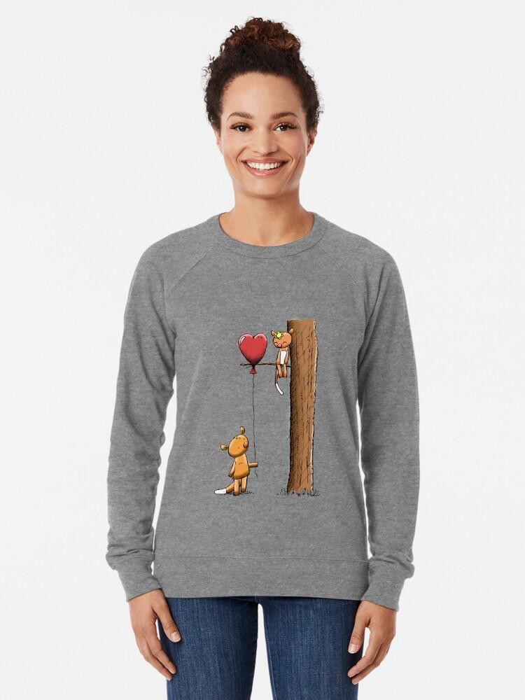 Alternate view of Valentine Possums Lightweight Sweatshirt