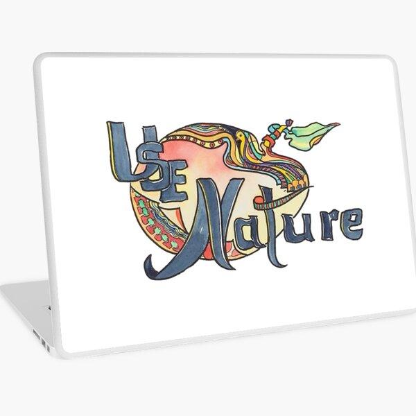 use Nature Organic Designs with Purpose Laptop Skin