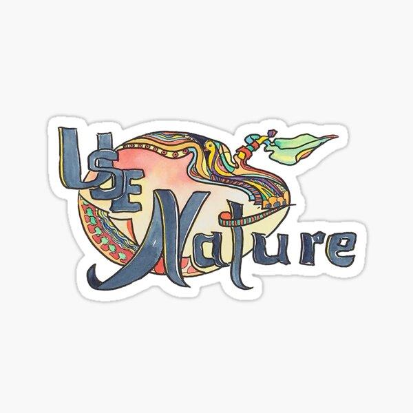 use Nature Organic Designs with Purpose Sticker