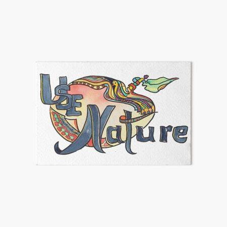 use Nature Organic Designs with Purpose Art Board Print