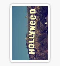 Hollyweed - vintage Sticker