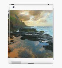 Secret Beach Lava Pools 2013 iPad Case/Skin