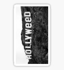 Hollyweed - Black/White Sticker