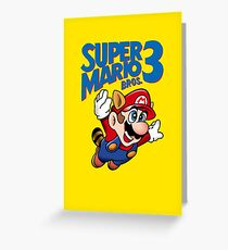 Super Mario Bros. 3  Greeting Card