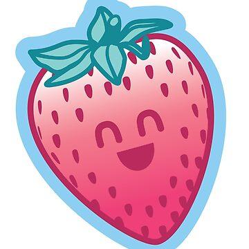 Vegasaur - Strawberry Blue by nushie