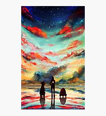 To the Stars, Baby Photographic Print