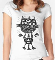 Some type of a cat Women's Fitted Scoop T-Shirt