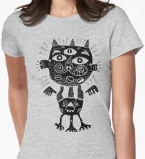 Some type of a cat Women's Fitted T-Shirt