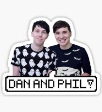 Dan and Phil! Sticker