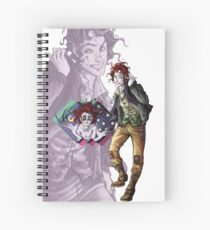 Marionettes in the Mist - Rolly (Banshee & Goblin Babysitter) Spiral Notebook