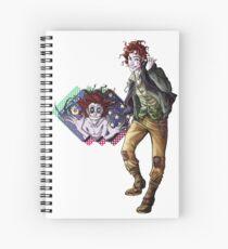 Marionettes in the Mist - Rolly (Banshee & Goblin Babysitter) 2 Spiral Notebook