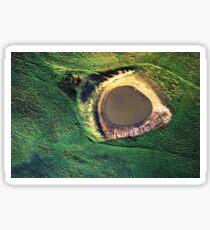 Aerial landscape, Benalla Sticker